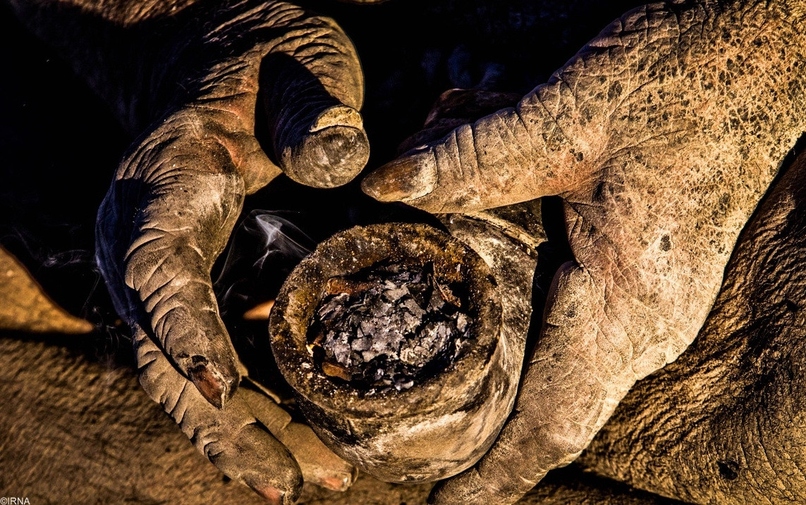 This Man Has Not Bathed In 60 Years. Wait Until You See What He Looks Like. WOW.