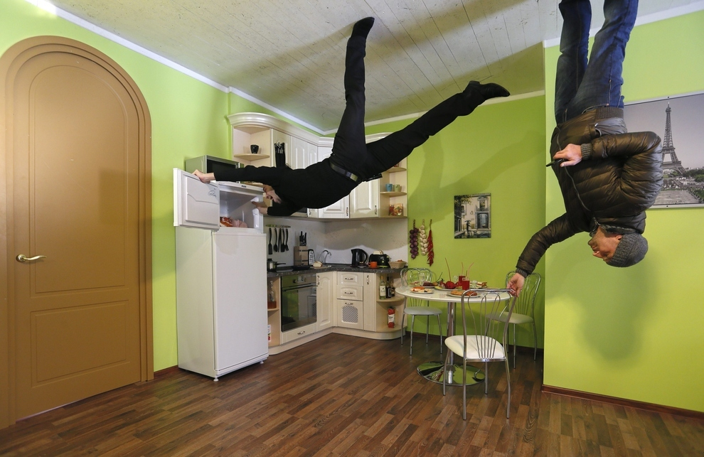 The Photos Of This Upside Down House Will Make Your Inner Child Go Crazy