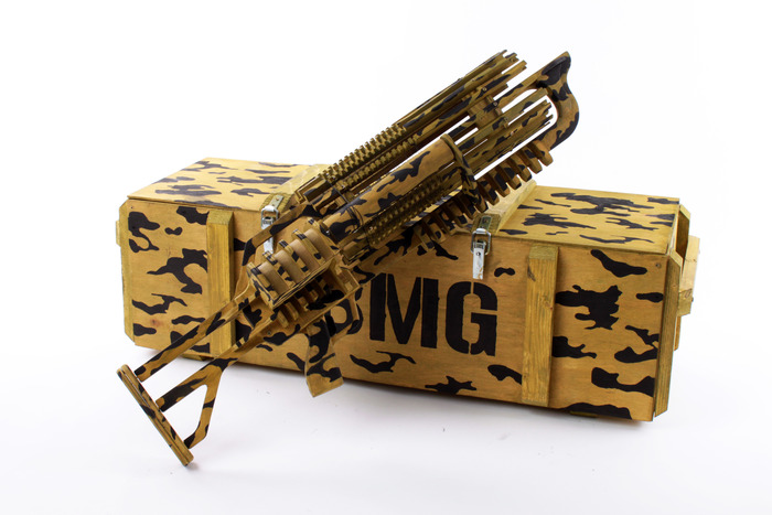 This Rubber Band Machine Gun Shoots 14 Bands A Second