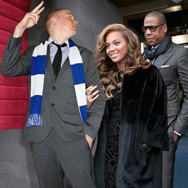This Guy Hilariously Photoshops Himself Into Photos With Celebrities