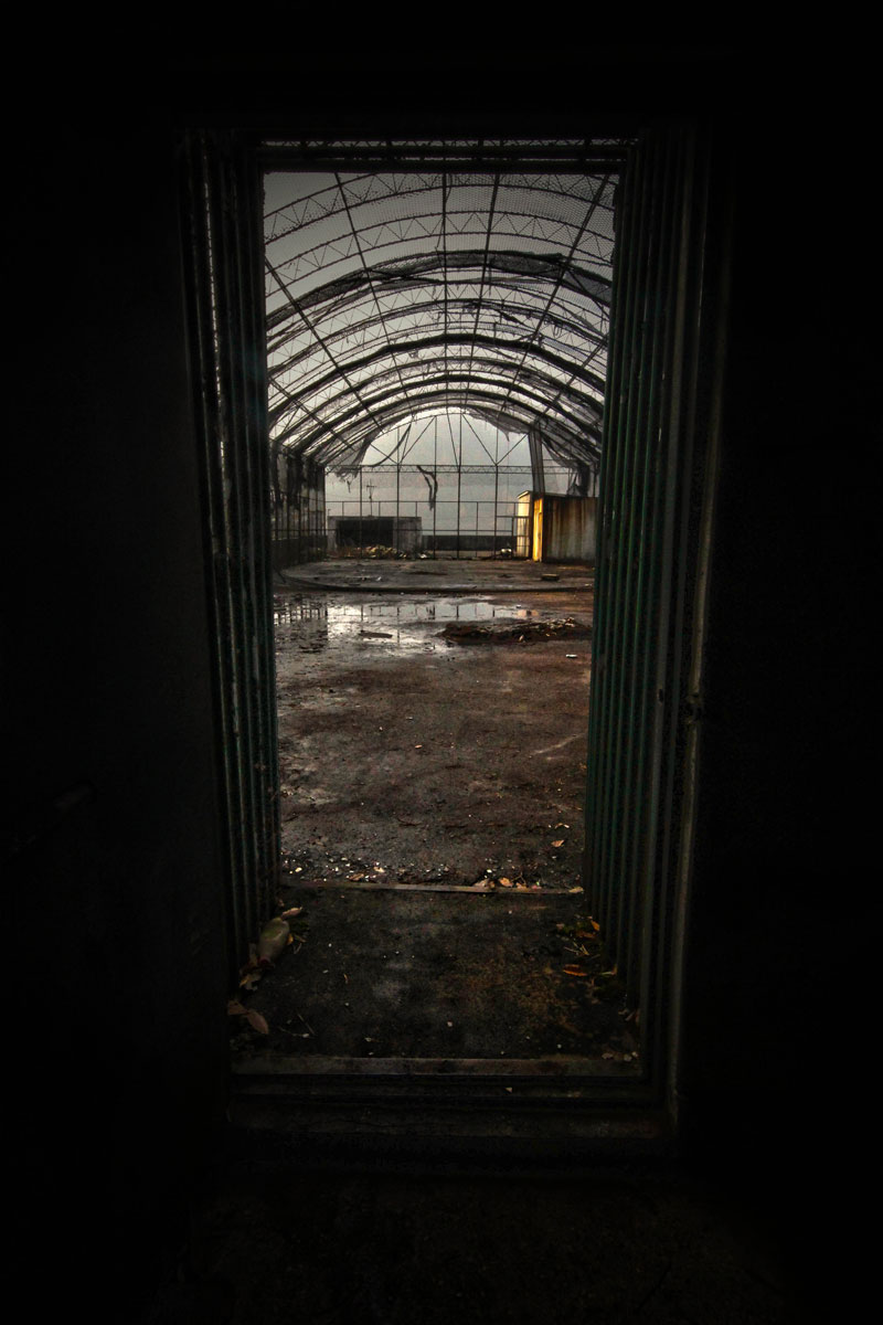 Haunting Photos Of An Abandoned Mental Hospital