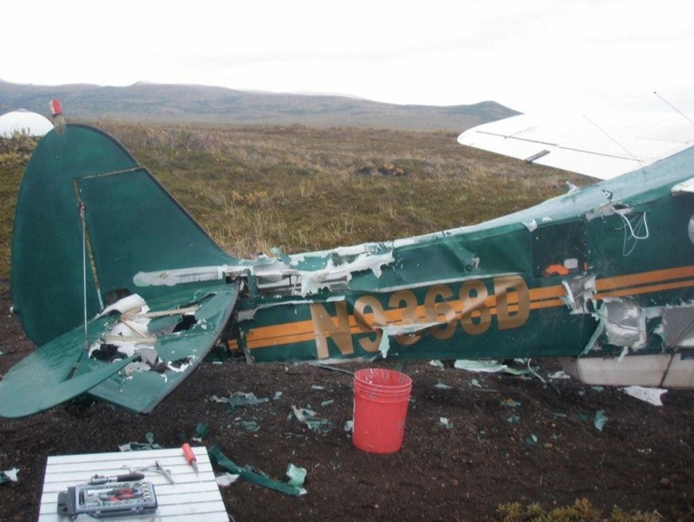 You Know You're In Trouble When A Bear Shreds Your Plane, But How This Pilot Fixes It… WHOA