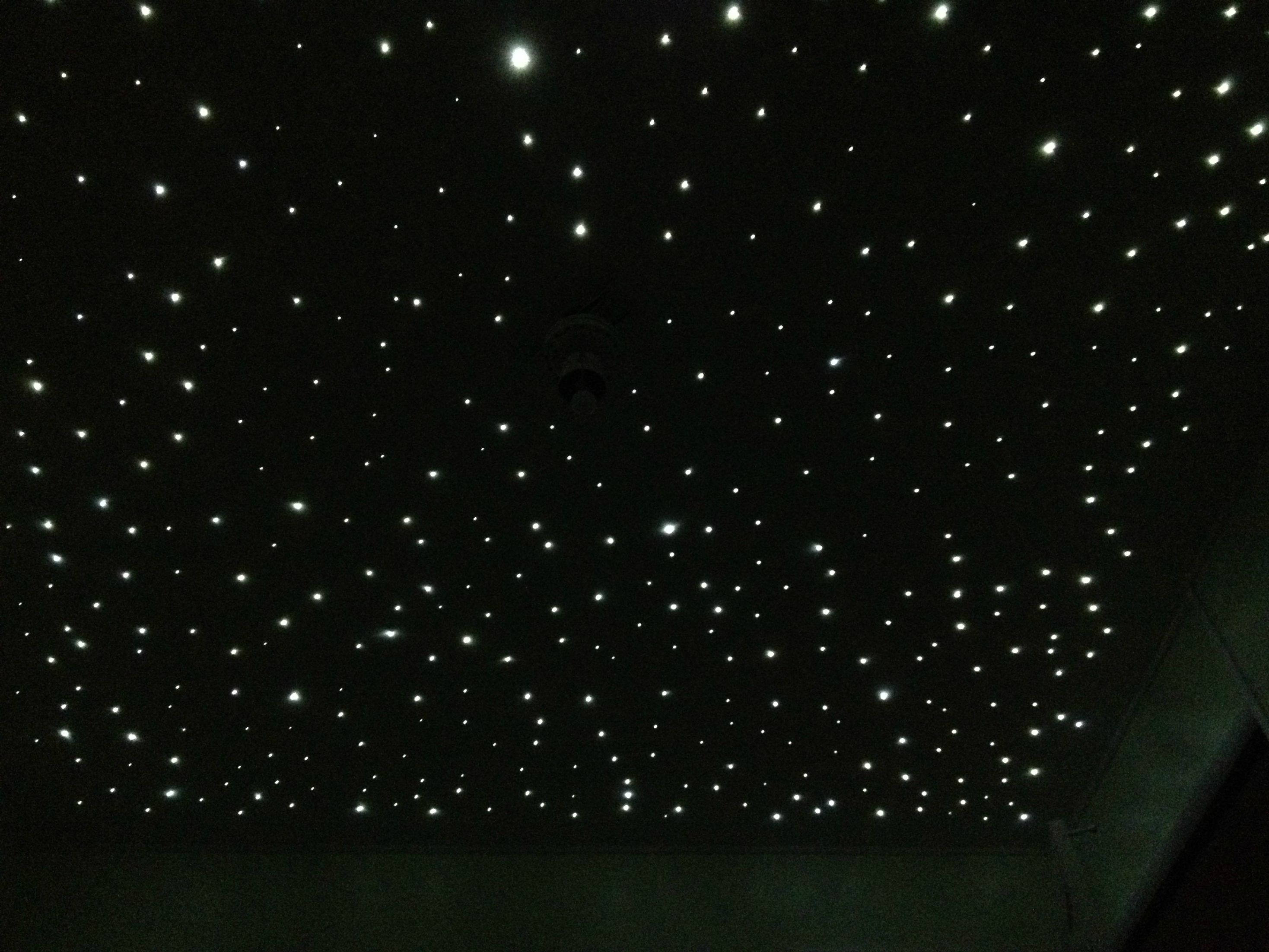 This Star Ceiling That This Dad Built For His Unborn Son Is Awesome