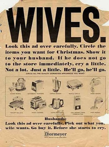 These Ads Were Posted Over 60 Years Ago And They Are Beyond Offensive.
