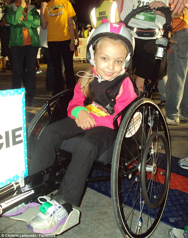 See This Girl In The Wheelchair? She's About To Make You Choke Up. WOW.