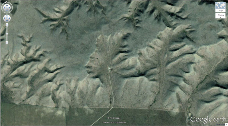 27 Of The Craziest Things Found On Google Earth