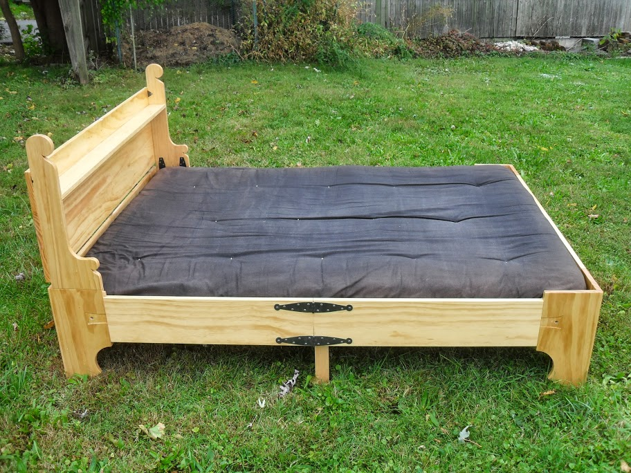 A Space Saving Bed In A Box