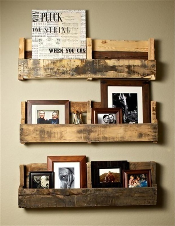 Here Are 25 Things You Can Do With Wood Pallets. #19 Will Come In Handy For Sure.