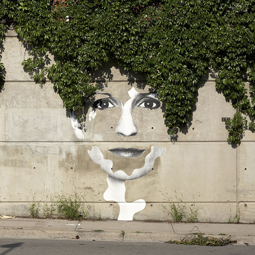 Here Are 27 Pieces Of Very Clever Street Art. #17 Had Me Do A Double-Take.