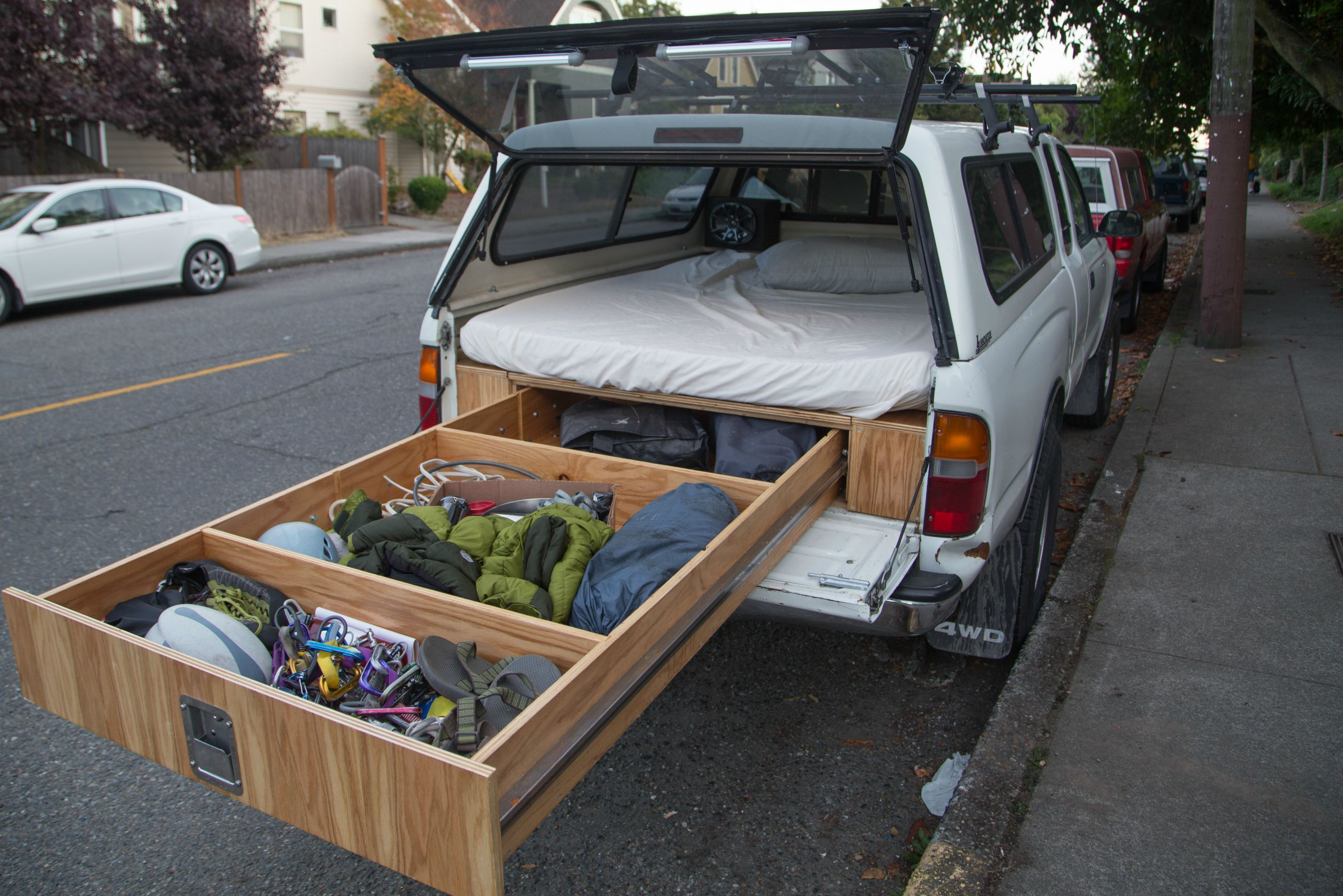 DIY Truck Bed Slide Out