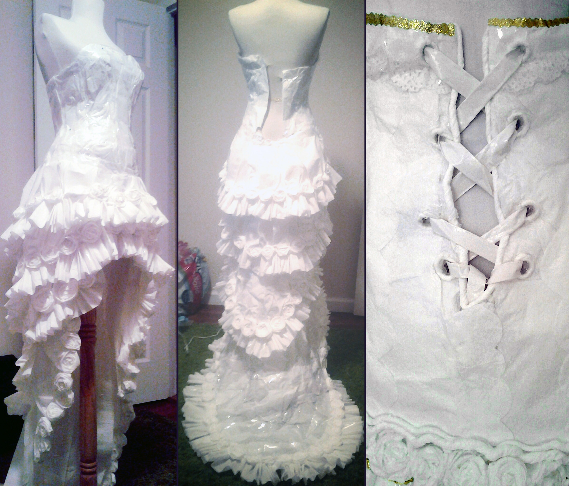 This Looks Like Just A Wedding Dress. But Wait Until You Figure Out What It Is... WOW.