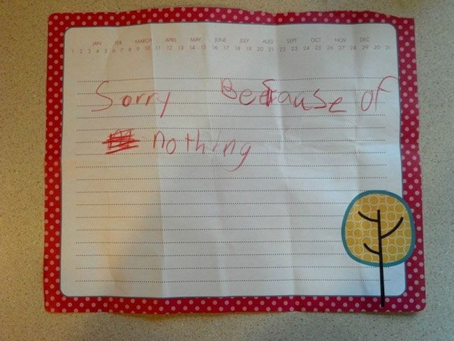 30 Honest And Mean Notes From Kids. I Lost It When I Saw Number 4! LOL.