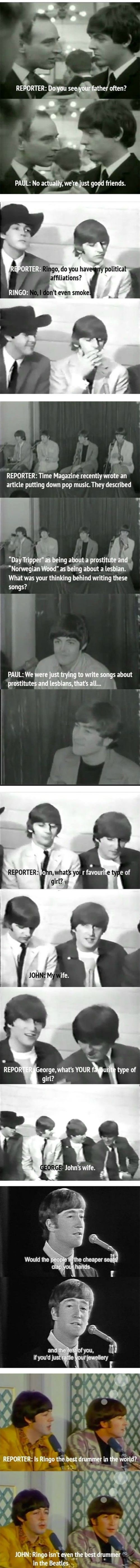 The Beatles Are One Of The Best Bands Of All Time. But After Seeing This, I Will Never Listen To Them The Same Again!