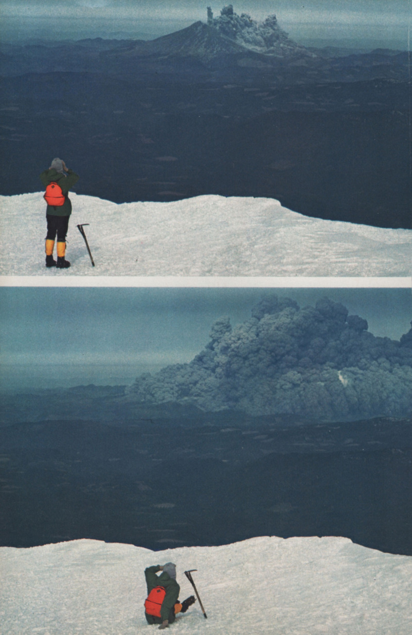 A Man Was Hiking Near Mt. St. Helens When It Erupted. What He Captured Is Incredible.