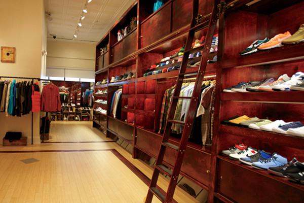 Clothing stores boston