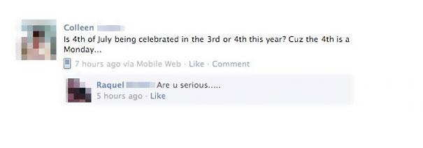 Have Said Some Stupid Things On Facebook But Nothing Tops What - 29 stupidest things happen 2014