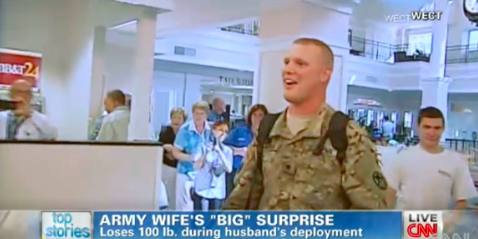 Soldier Returns Home To His Wife Except He Can Barely Recognize Her Anymore.